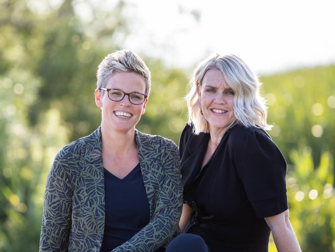 Kirsten en Bety